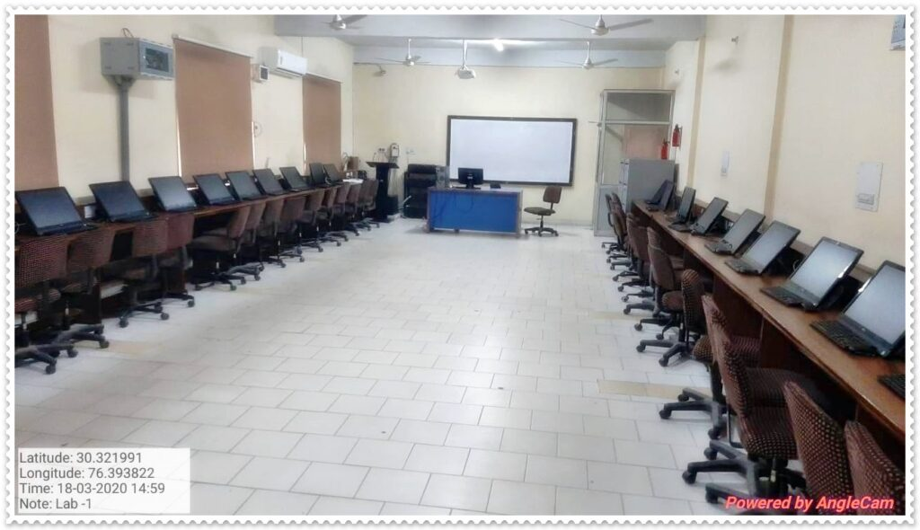 Computer Lab - Department of Computer Science