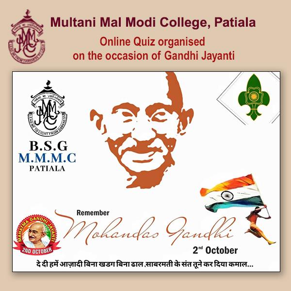 Online Quiz Gandhi Jayanti