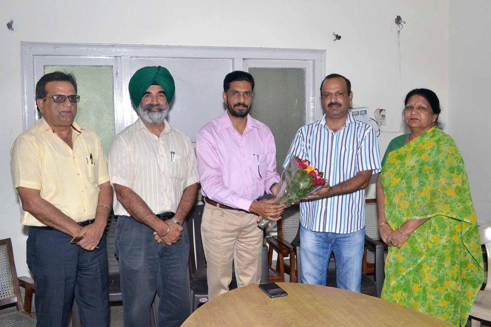 Dr Sanjay Felicitated