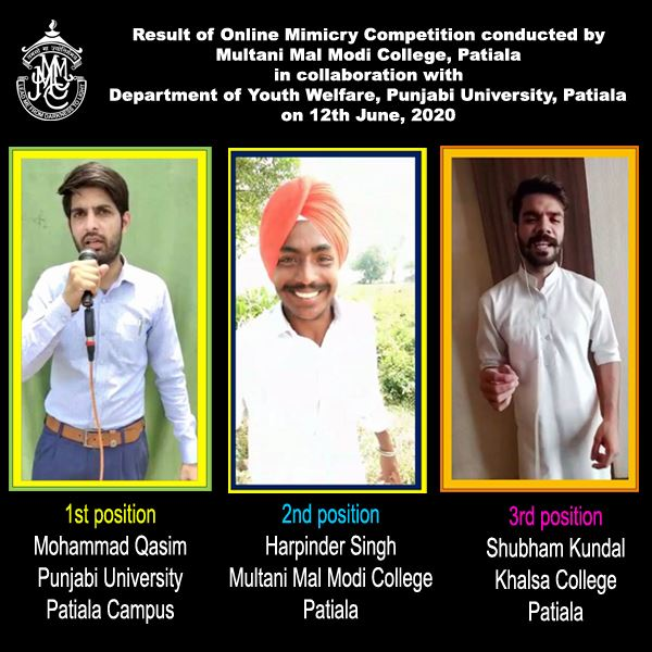 Online Mimicry Competition