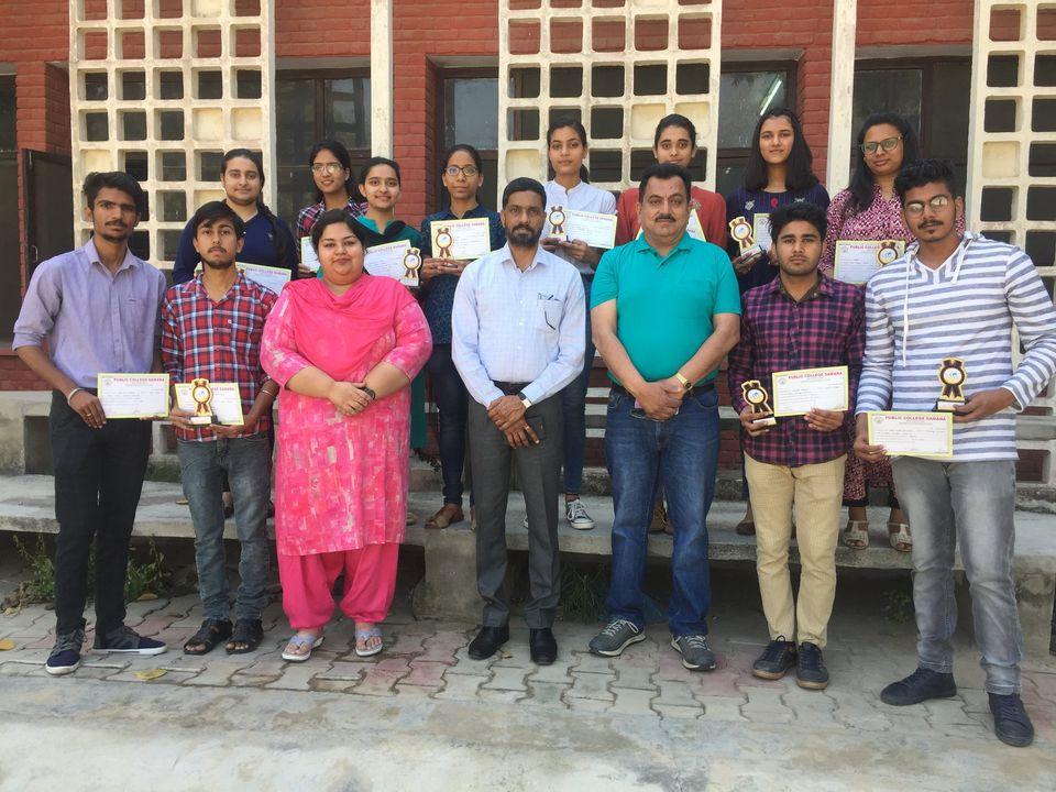 Science Students at PC Samana