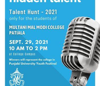 1 Talent Hunt 2021