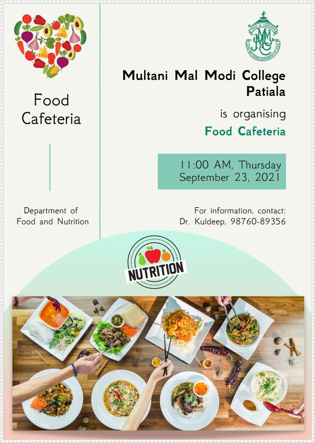 Food Cafeteria Flyer