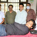 Blood Donation Camp organized at Multani Mal Modi College